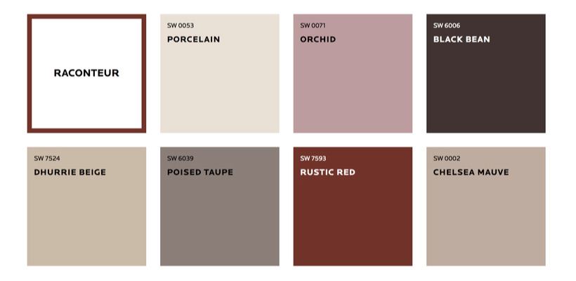 raconteur pallete