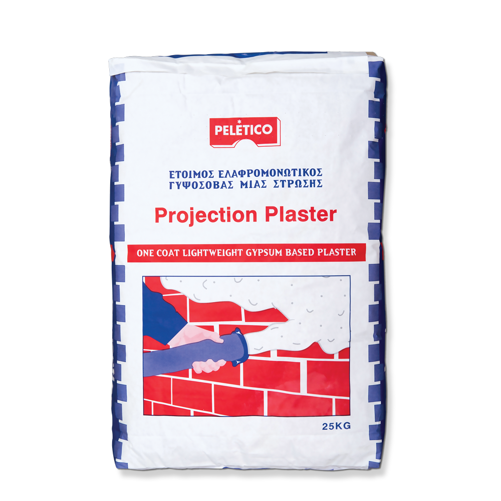 PROJECTION PLASTER